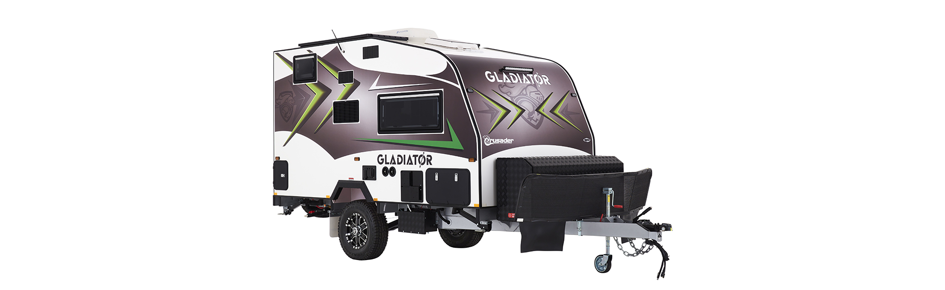 The Gladiator is not only extremely functional, it is beautifully made and fantastic looking.